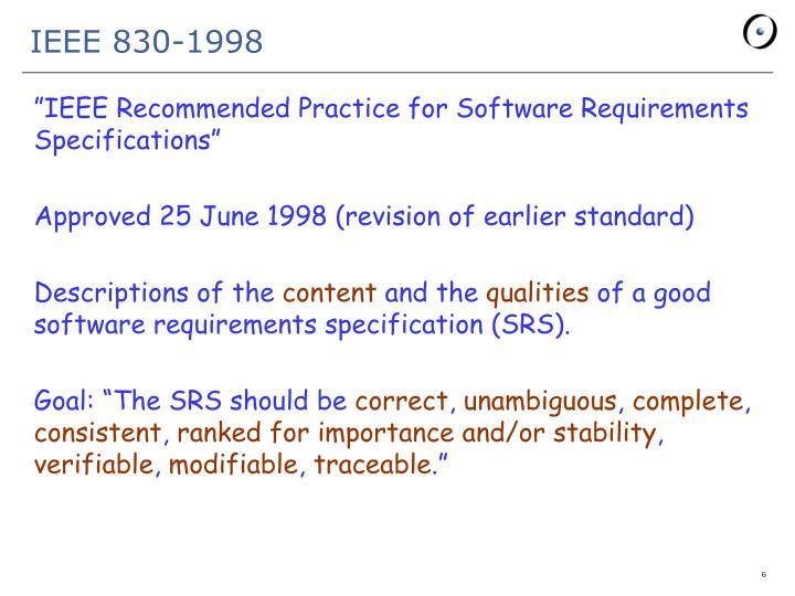 IEEE 830-1998