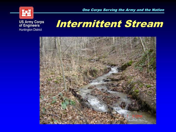 Intermittent Stream
