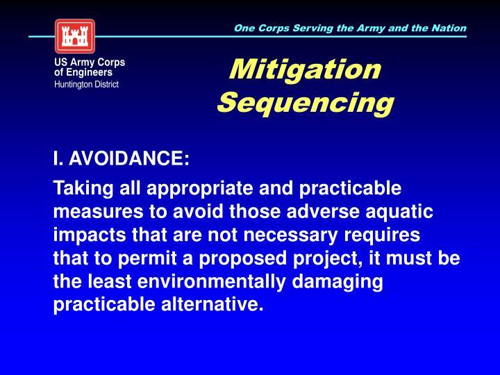 Mitigation Sequencing