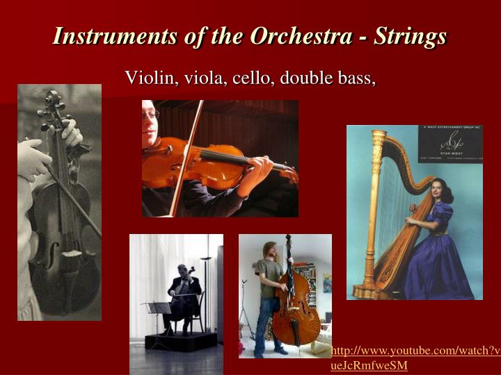 Instruments of the Orchestra - Strings