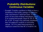 probability distributions continuous variables1
