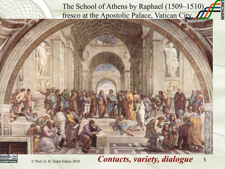 The School of Athens by Raphael (1509–1510),