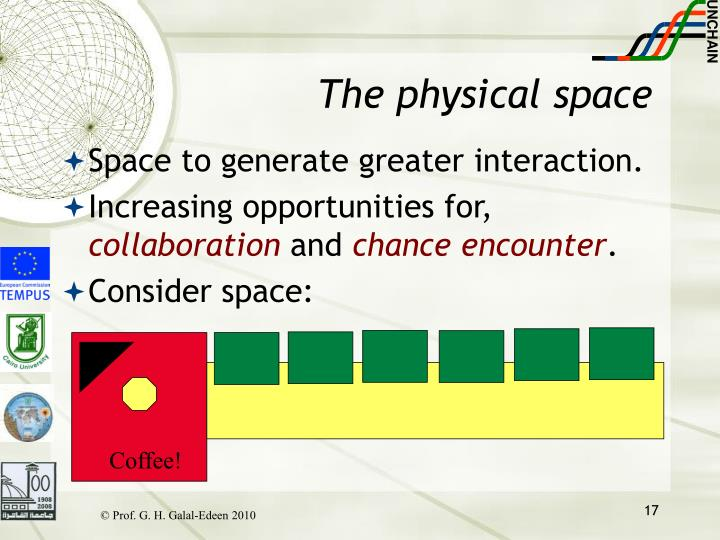 The physical space