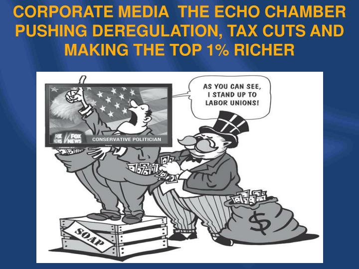 CORPORATE MEDIA  THE ECHO CHAMBER