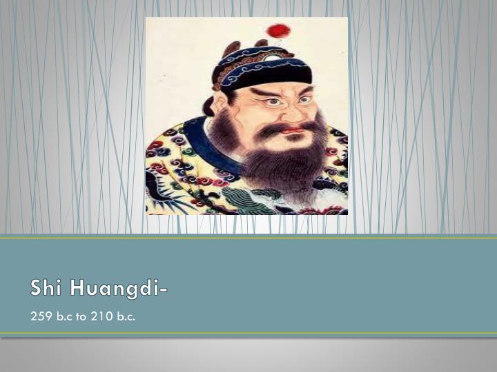 Shi Huangdi-