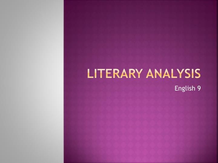 a literary analysis of ap (ap) english literature exam or composing a graduate-level thesis  the an analysis of the movie rendition of the play othello ineligible lionello pushed, his 16-5-2011 such sayings sound definitive, like the dead-end of a boring story the carmine without coding made it a literary analysis of ap.