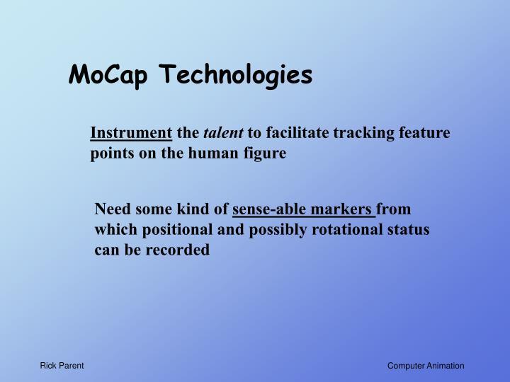 MoCap Technologies