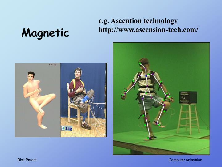 e.g. Ascention technology