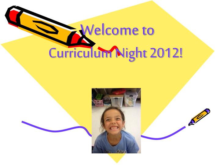 Curriculum Night 2012!
