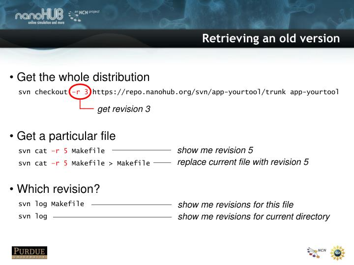 get revision 3
