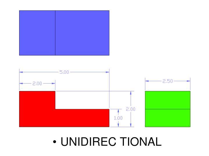 UNIDIREC TIONAL