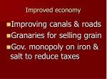 improved economy