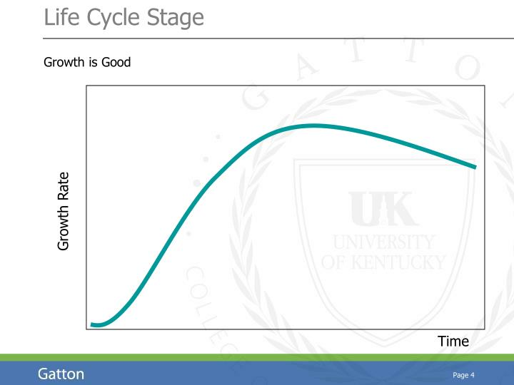 Life Cycle Stage