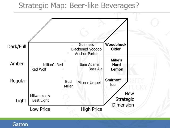 Strategic Map: Beer-like Beverages?