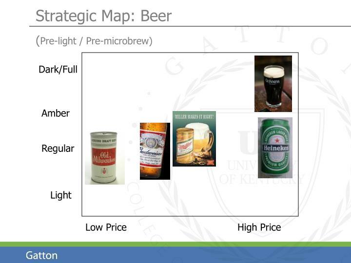 Strategic Map: Beer
