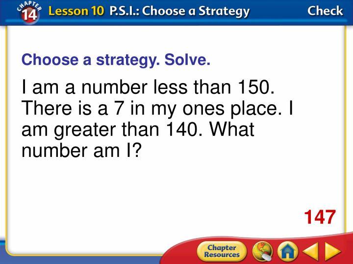 Choose a strategy. Solve.