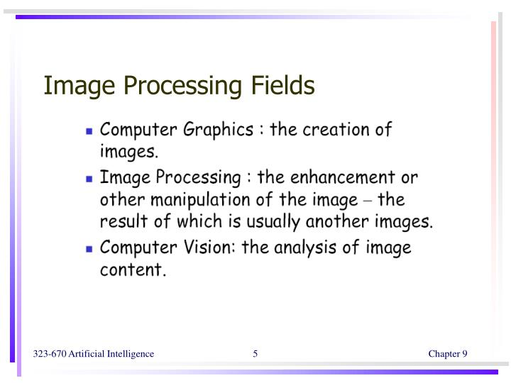 Image Processing Fields