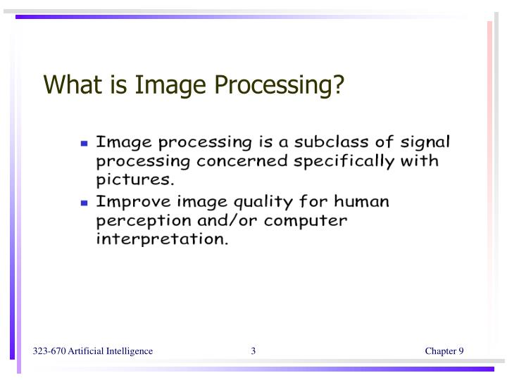 What is Image Processing?
