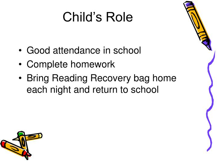 Child's Role