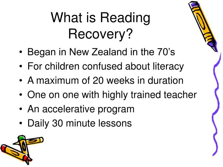 What is Reading Recovery?
