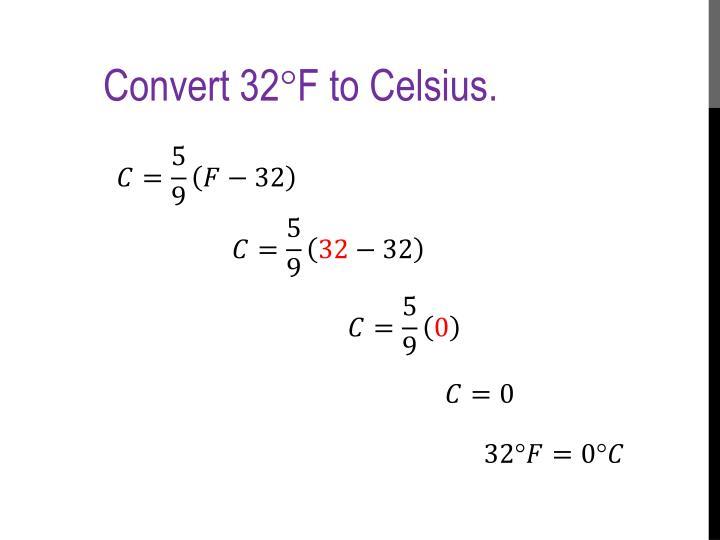 Convert 32