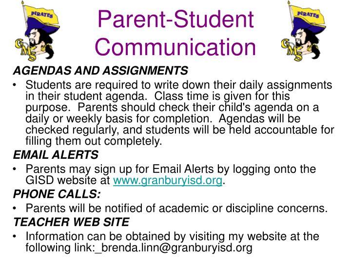 Parent-Student Communication