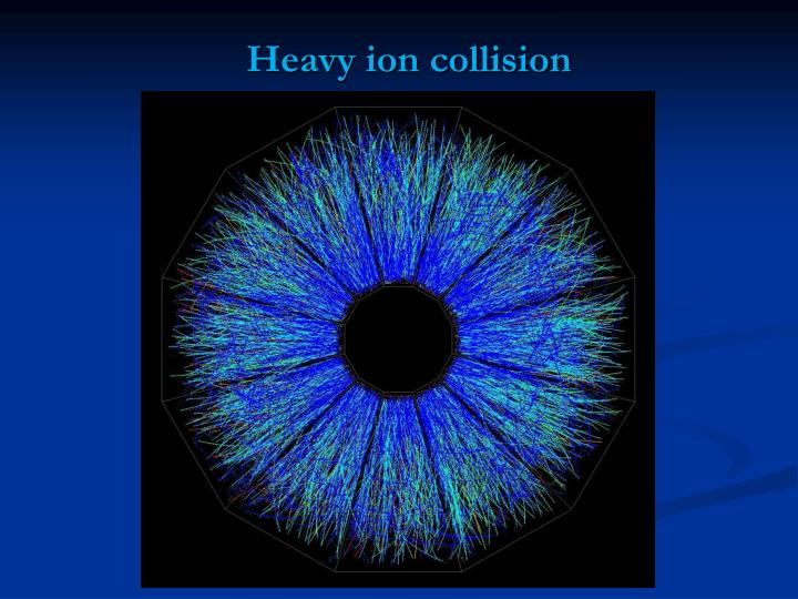 Heavy ion collision