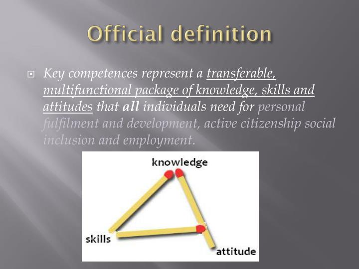 Official definition