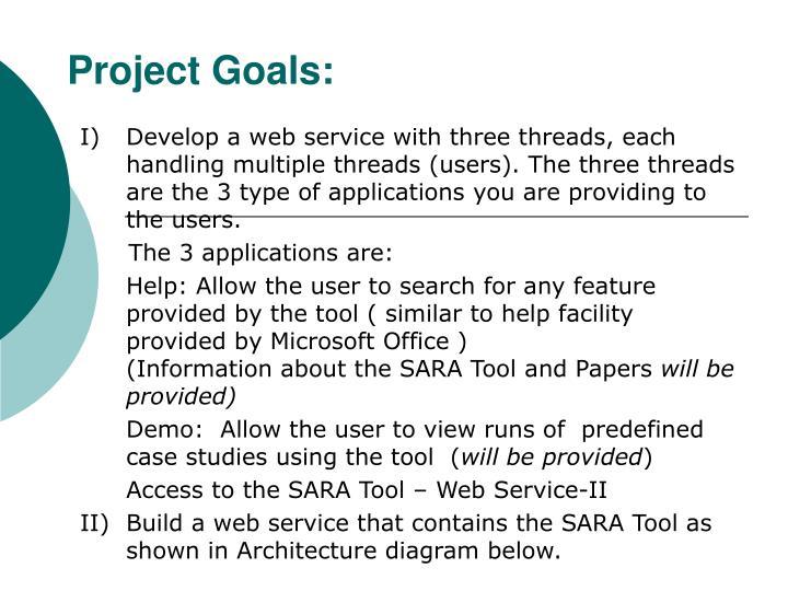 Project Goals: