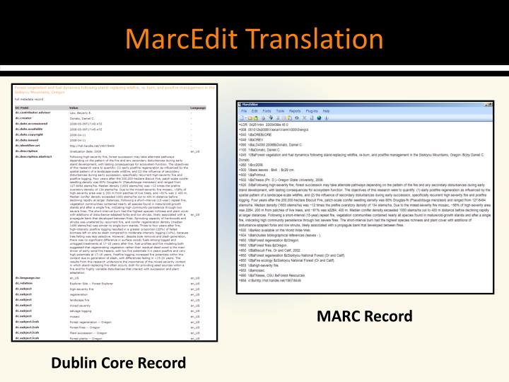 MarcEdit Translation