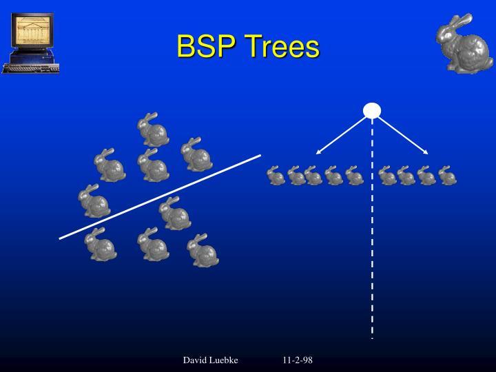 BSP Trees