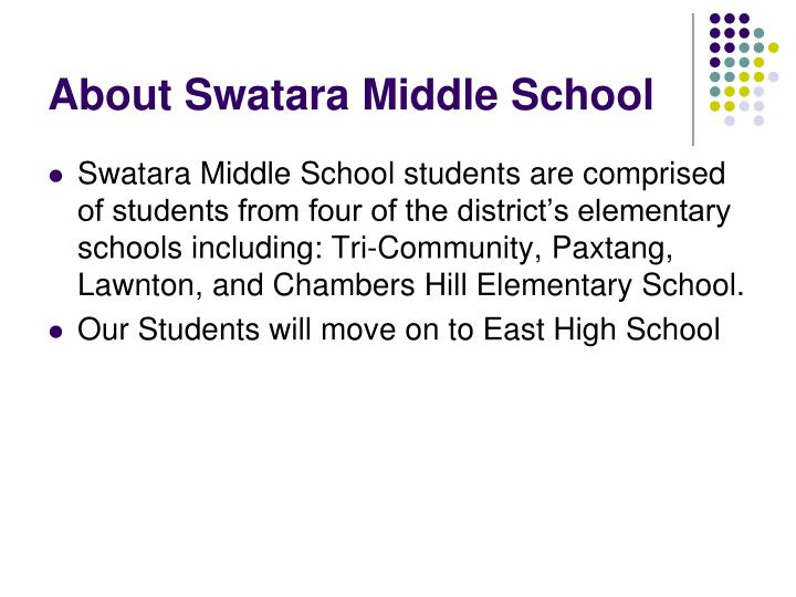 About Swatara Middle School