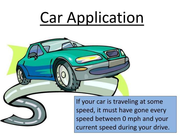 Car Application