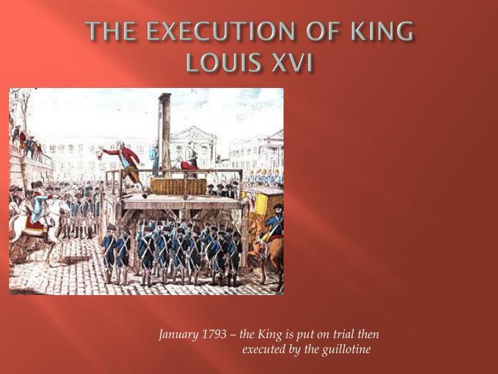 king louis execution
