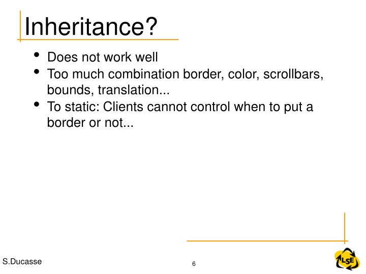 Inheritance?