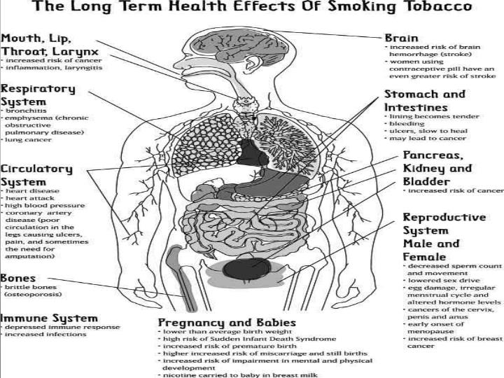 How Tobacco Use Affects the Body