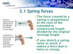 5 1 spring forces