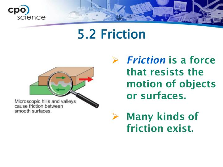 5.2 Friction
