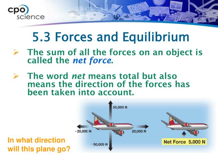 5.3 Forces and Equilibrium
