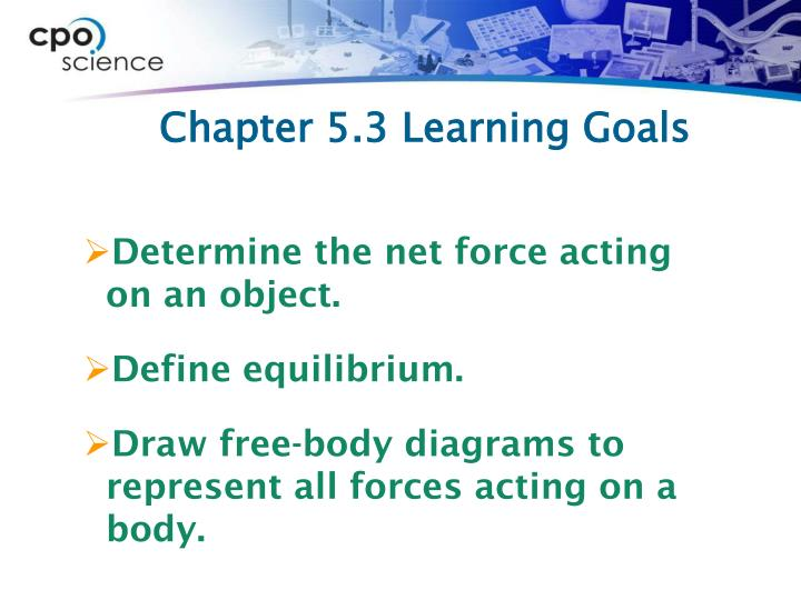 Chapter 5.3 Learning Goals
