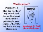what is prayer2