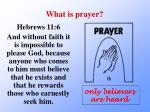 what is prayer4
