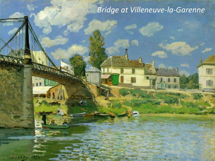 Bridge at Villeneuve-la-