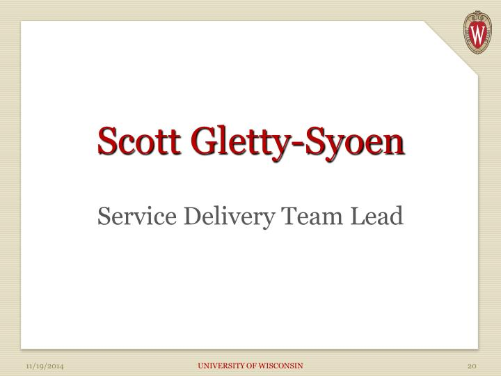Scott Gletty-Syoen