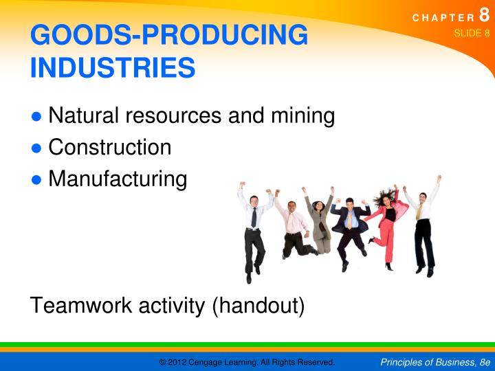 GOODS-PRODUCING INDUSTRIES