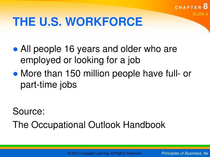 THE U.S. WORKFORCE