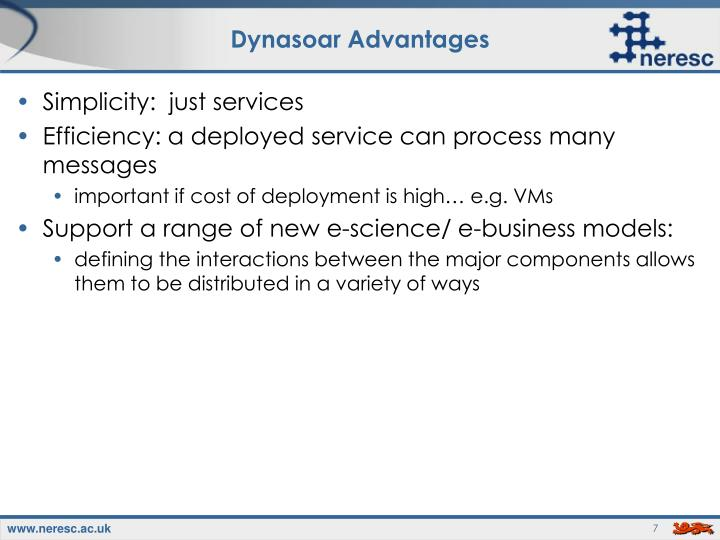 Dynasoar Advantages