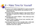 8 make time for yourself