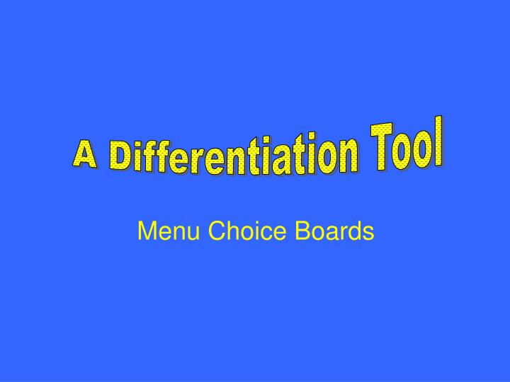 A Differentiation Tool