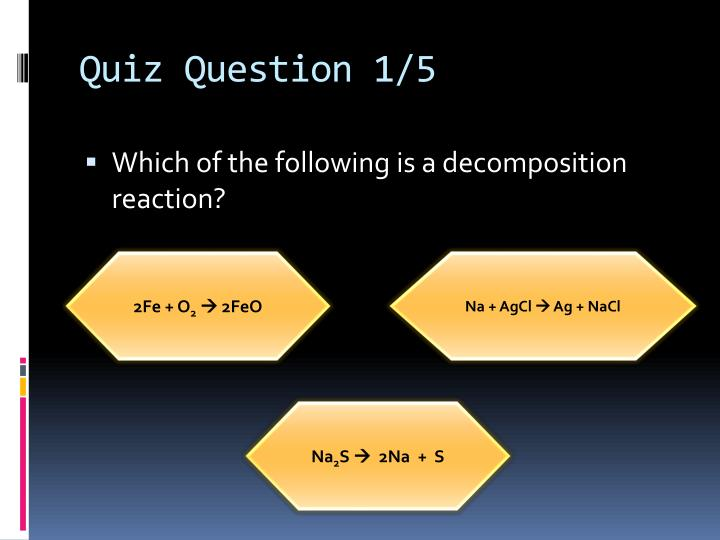 Quiz Question 1/5